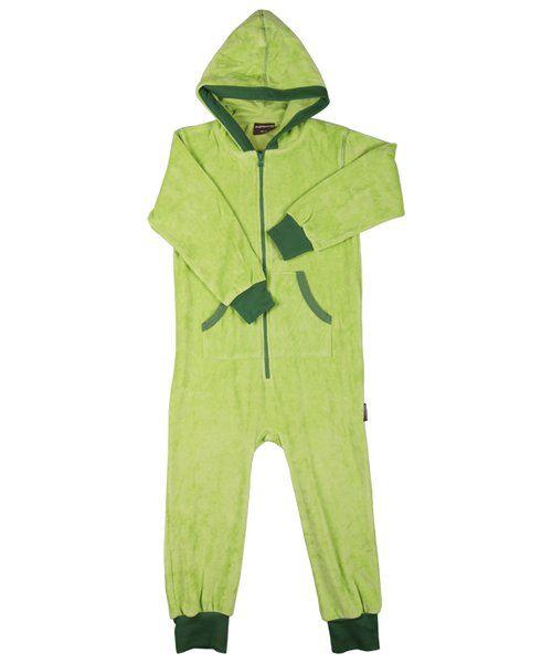 Maxomorra Jumpsuit Velour Light Green - kaikille lapsukaisille kävisi tämäkin. Myös muut jumpsuitit.