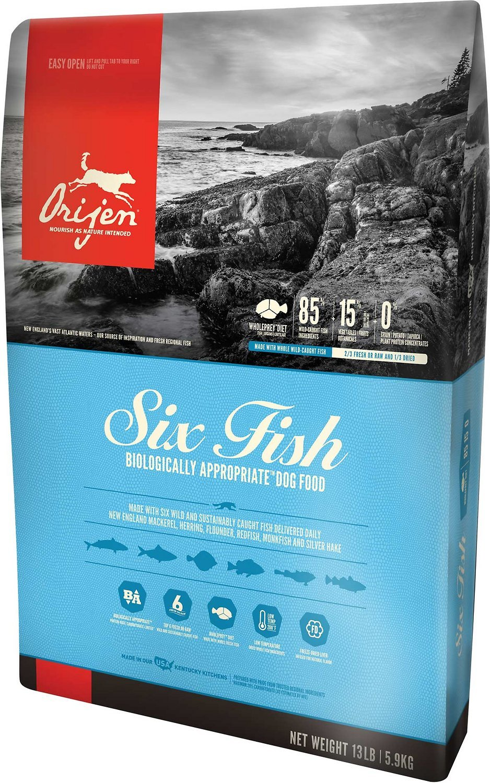 Orijen Six Fish Dog food recipes, Grain free dog food