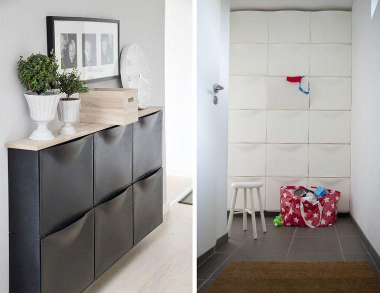 Blat Wyzej Zawieszonych Szafek Na Buty Posluzy Jako Wygodne Miejsce Do Odlozenia Kluczy In 2021 Ikea Storage Ikea Home Decor