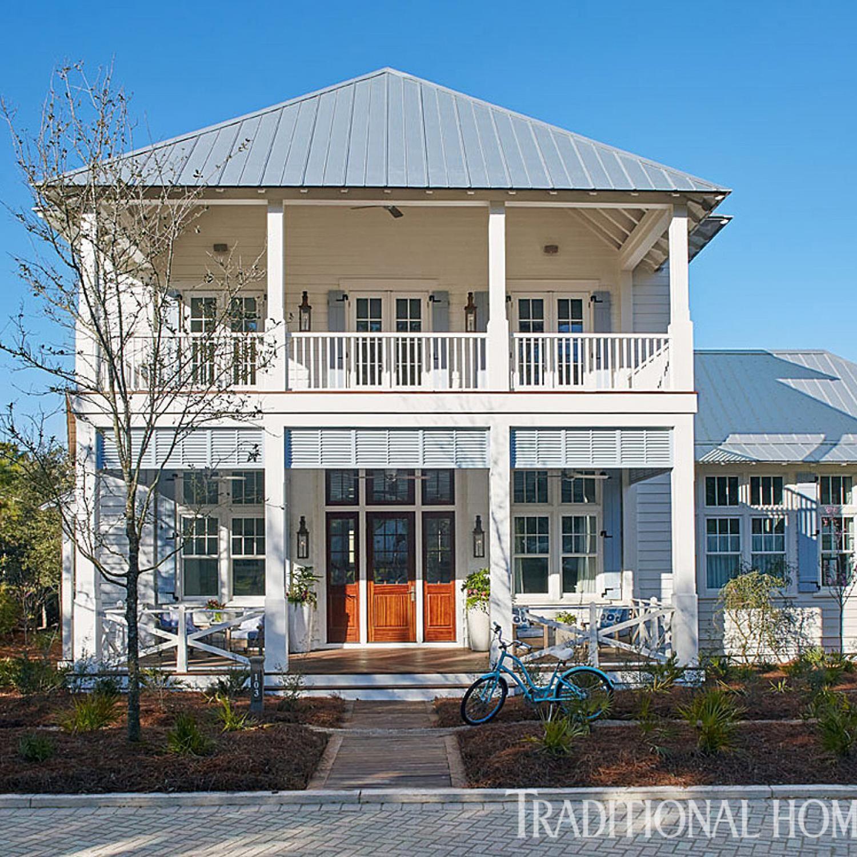 Gulf Coast Beach Houses: Elegant Family Vacation Home