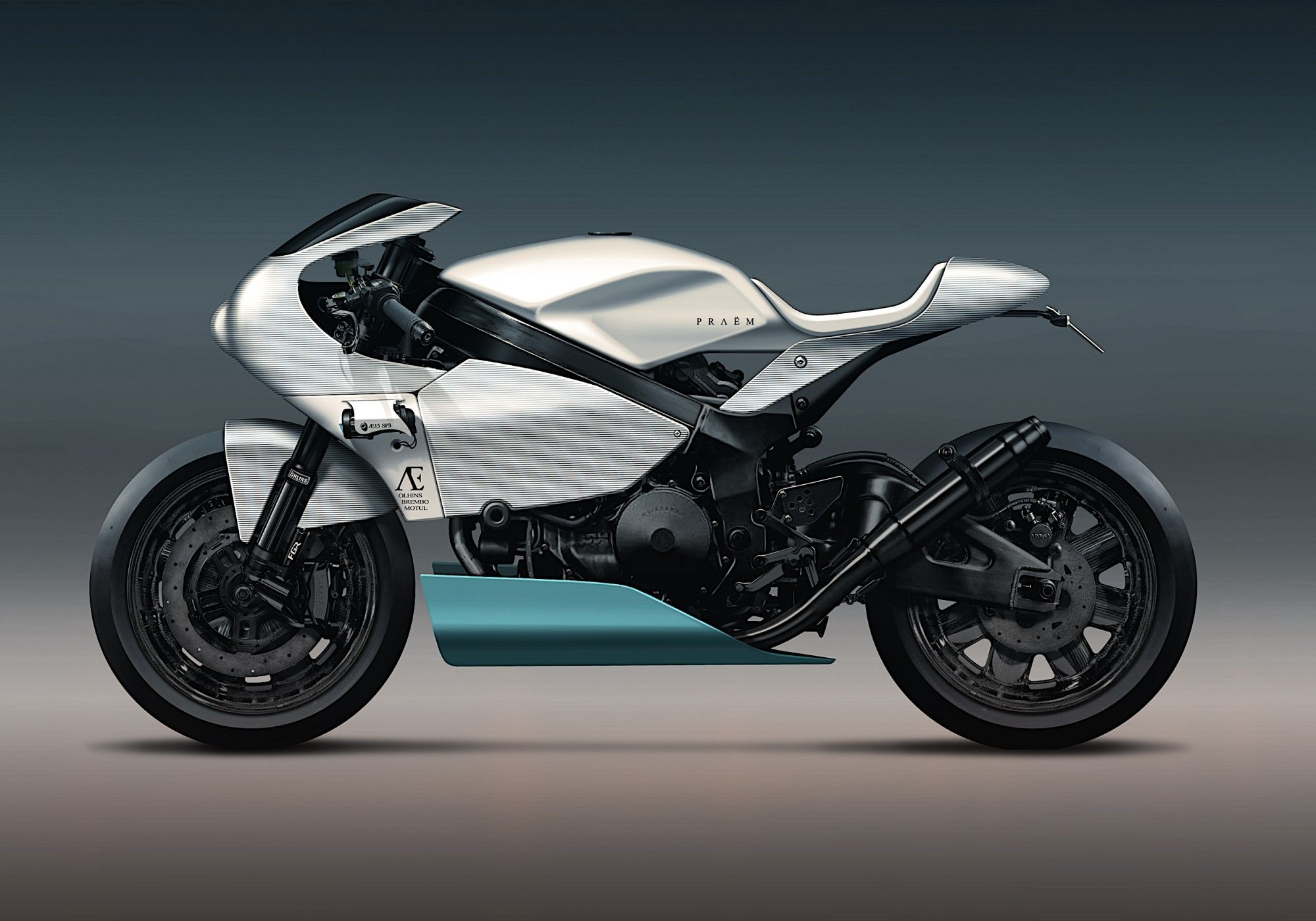 High-end Handbuilt Praëm SP3 Launches In Paris | MotorcycleFeed ...