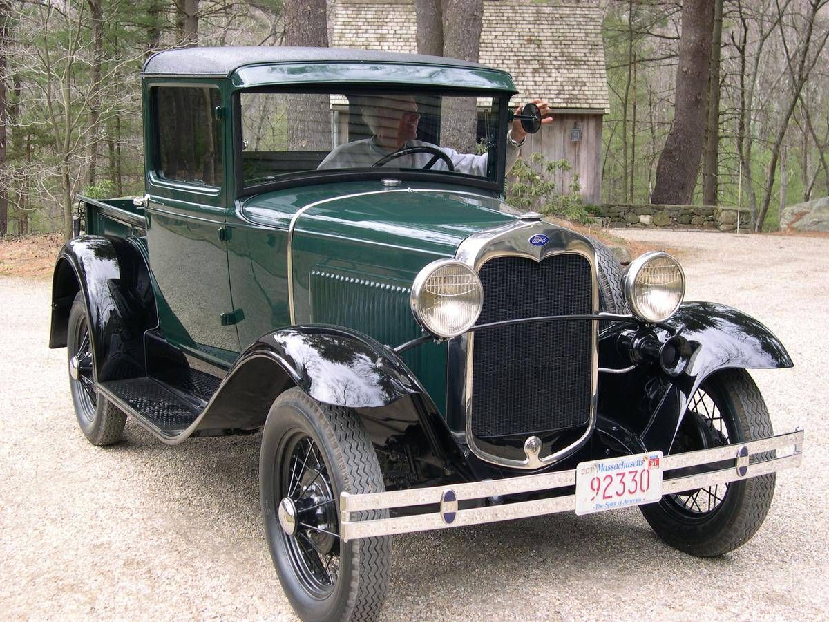 1930 Ford Model A Closed Cab Pick-up | Cars / old times | Pinterest ...