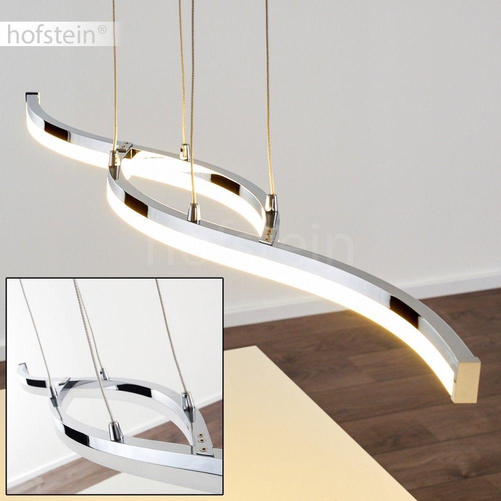 Decken Leuchte LED Design Flur Dielen Lampen Wellen Wohn Schlaf Raum Beleuchtung