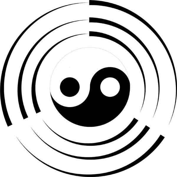 7 free vector yin yang to download freevectors net higher being rh pinterest co uk Anime Yin and Yang Flower of Life Art