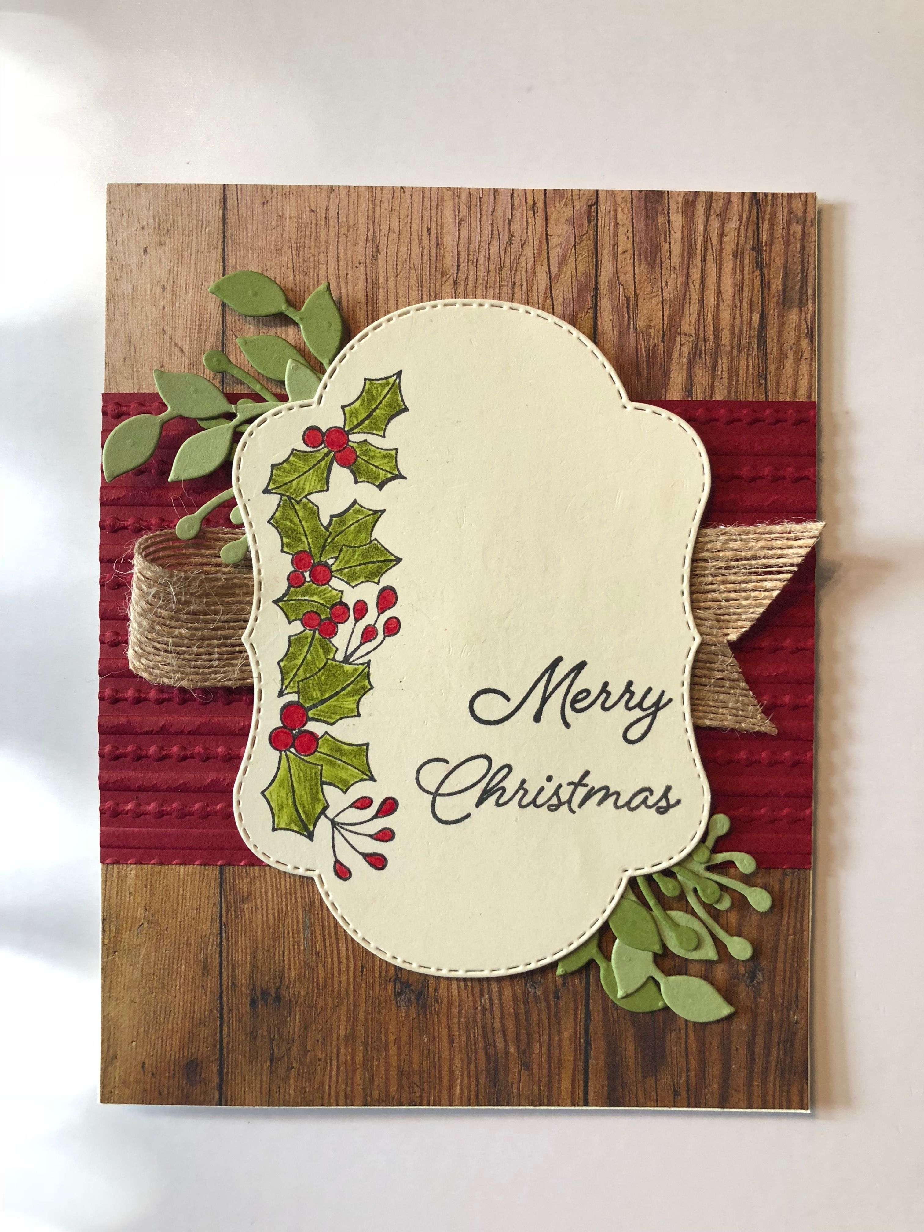 Stampin Up Blended Seasons | Stamping Ideas | Pinterest | Christmas ...