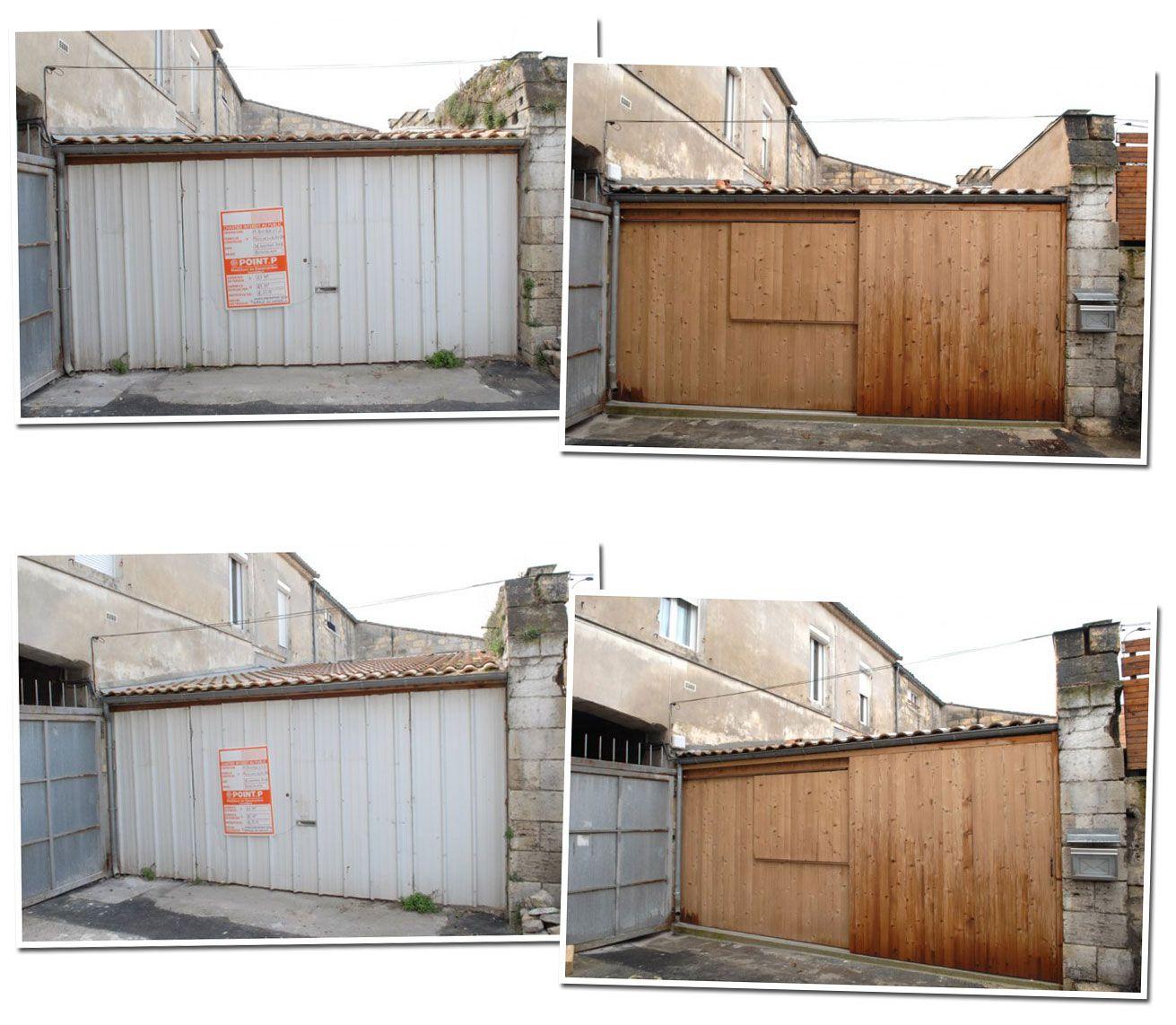 Garage Conversion In Bordeaux By Fabre De Marien Architects House Exterior Converted Garage Garage Garage Doors