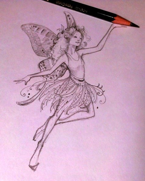 Easy to draw fairy pictures google search