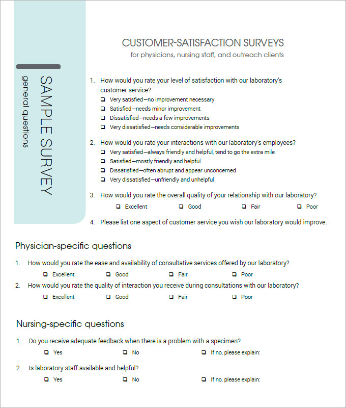 Customer Satisfaction Report Template 4 Professional Templates Customer Satisfaction Survey Template Survey Template Bio Data For Marriage