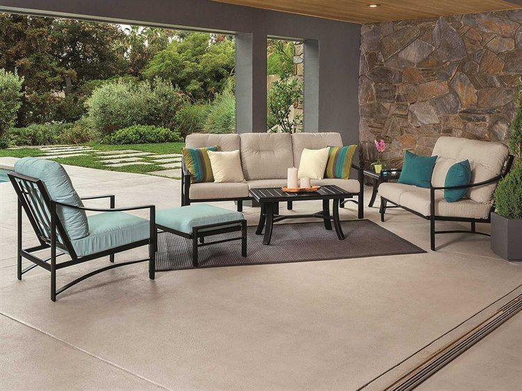 Tropitone Kenzo Cushion Aluminum Lounge Set In 2021 Tropitone Patio Furniture Patio Furniture Sets Commercial Outdoor Furniture