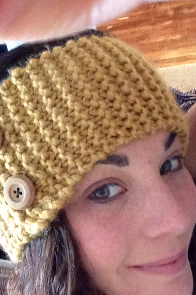Knit This Ear Warmer For My Daughter No Instructions For Pattern