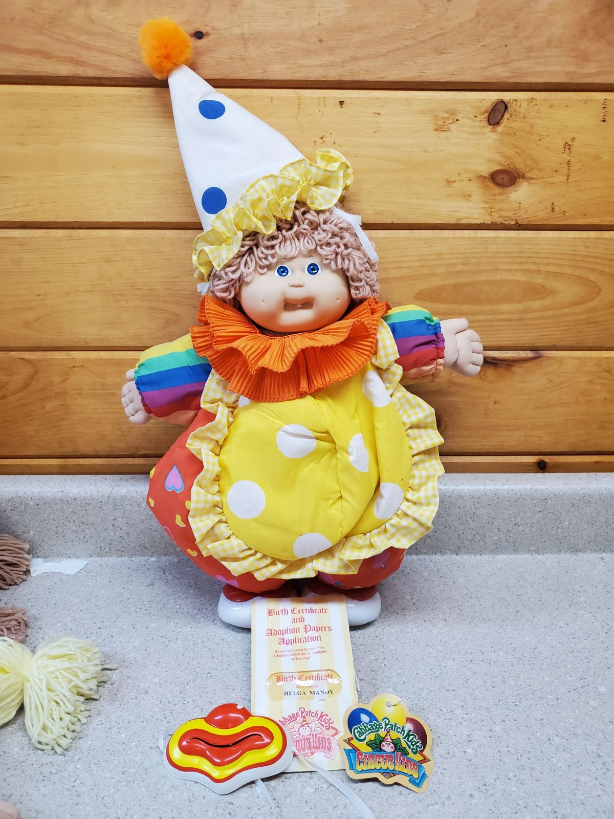 Pin On Cabbage Patch Doll Clown Doll