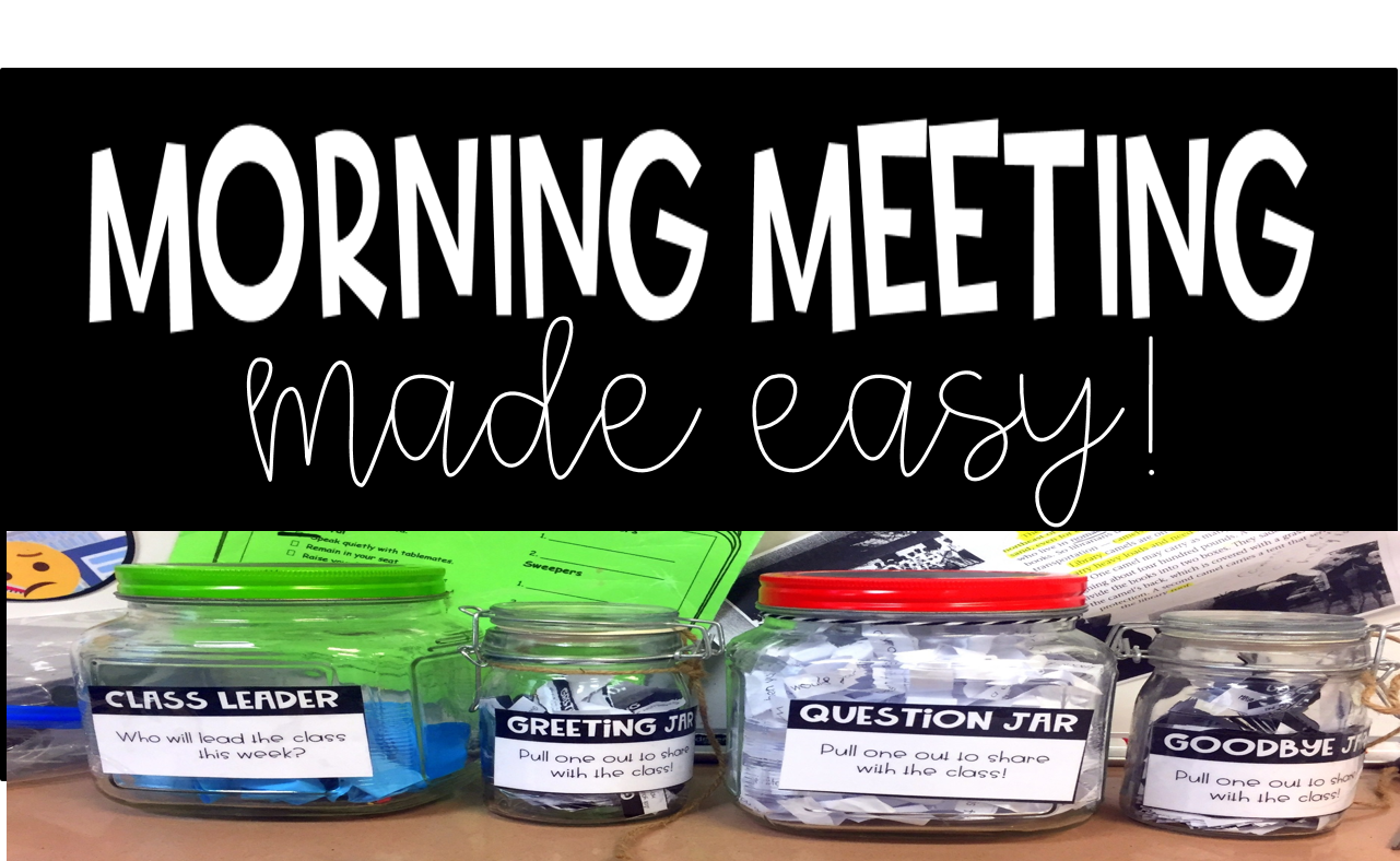 Morning Meetings Made Easy