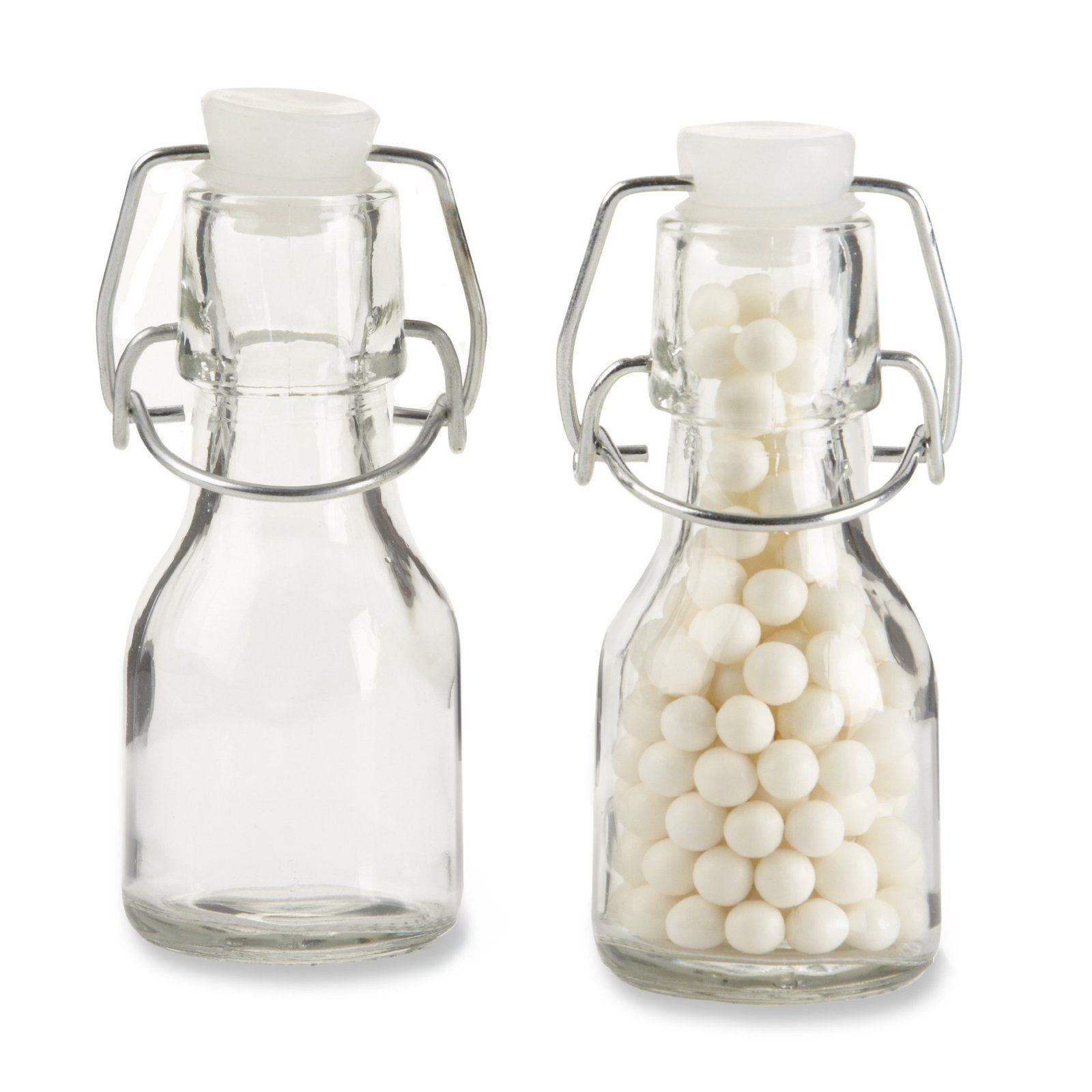 fashion #collectibles Kate Aspen Set of 12 Mini Glass Favor Bottle ...