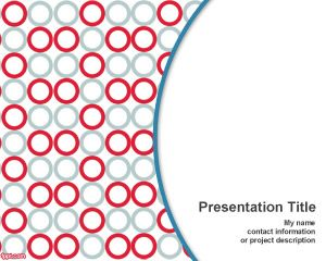 free microplate powerpoint template for biology or science, Powerpoint templates
