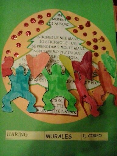 Bigliettino Haring. Giovanna Nigro