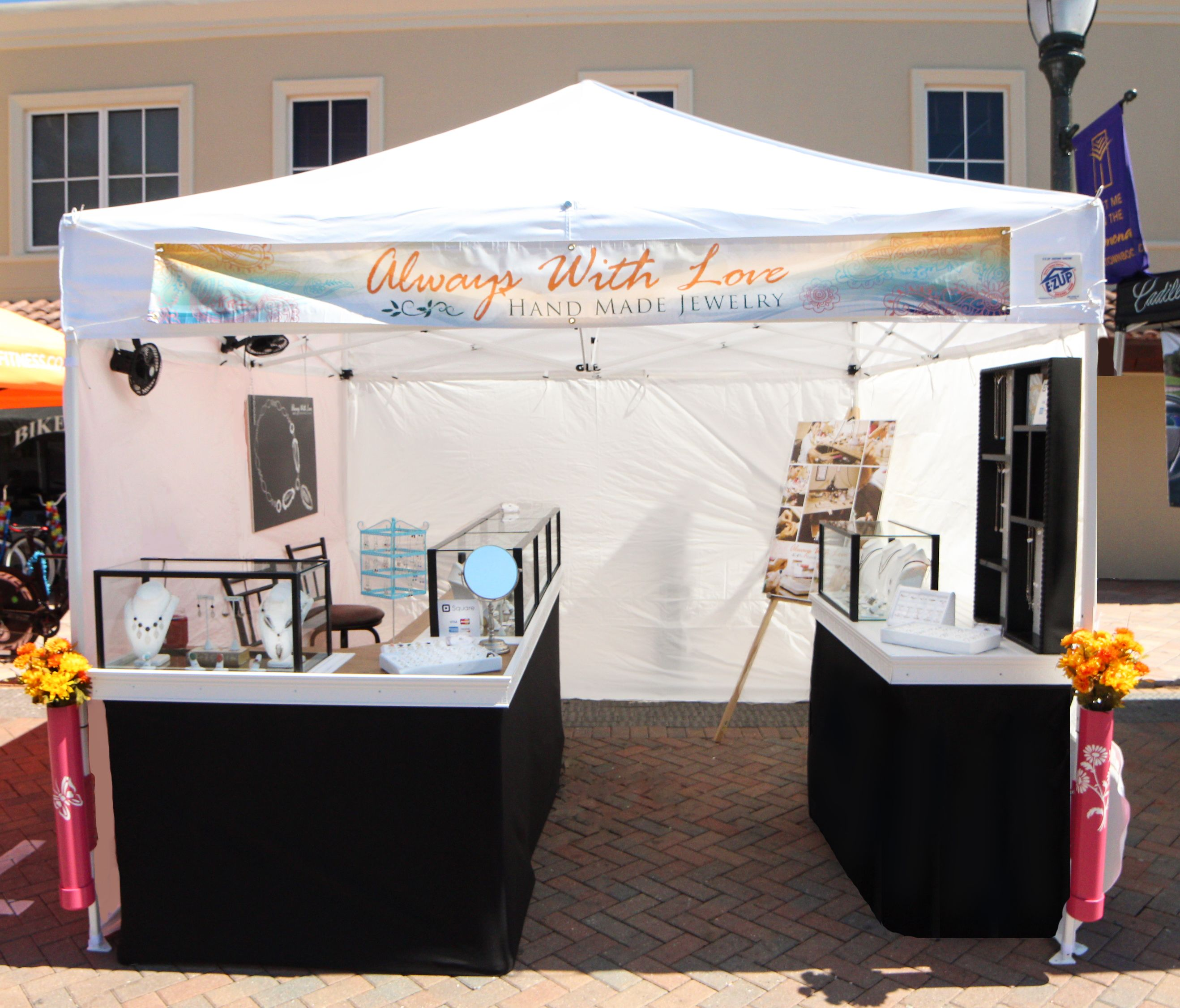 Craft Show Booth Display Jewelry Booth Booth Display Craft Booth