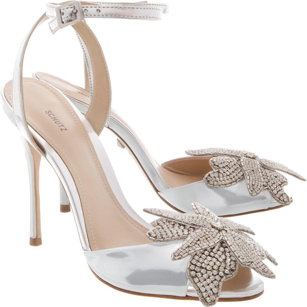 schutz ayanne jeweled suede stilettos