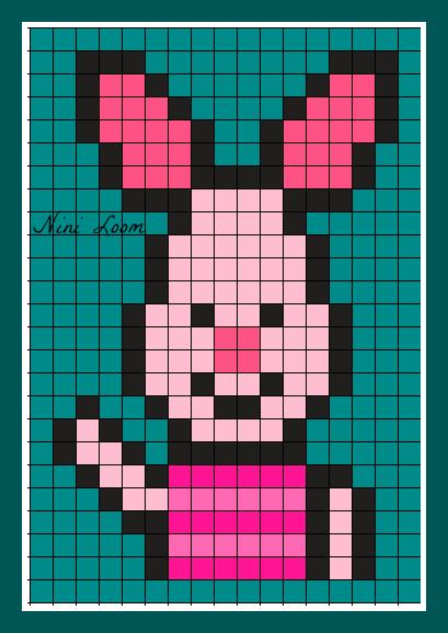 Image Du Blog Loomscenterblognet Pixel Art Winnie