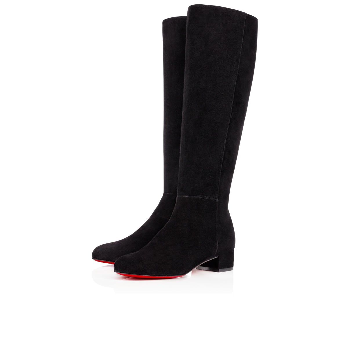 Christian Louboutin Discount On Sale Now Christian Louboutin Egoutina Spike Toe Suede Boots Black louboutin on salelouboutin biancagreat deals