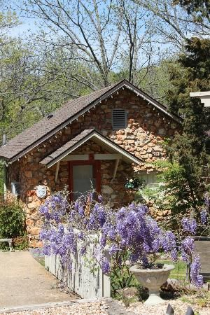 Eureka Springs Arkansas Rock Cottage Gardens B Inn Eureka