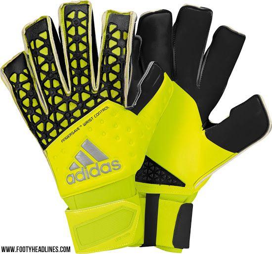 The New Adidas Ace 2015 2016 Goalkeeper Gloves Introduce A Brand New Design Casillas Neuer And De Gea Will Wear Th Goalkeeper Gloves Goalkeeper Keeper Gloves