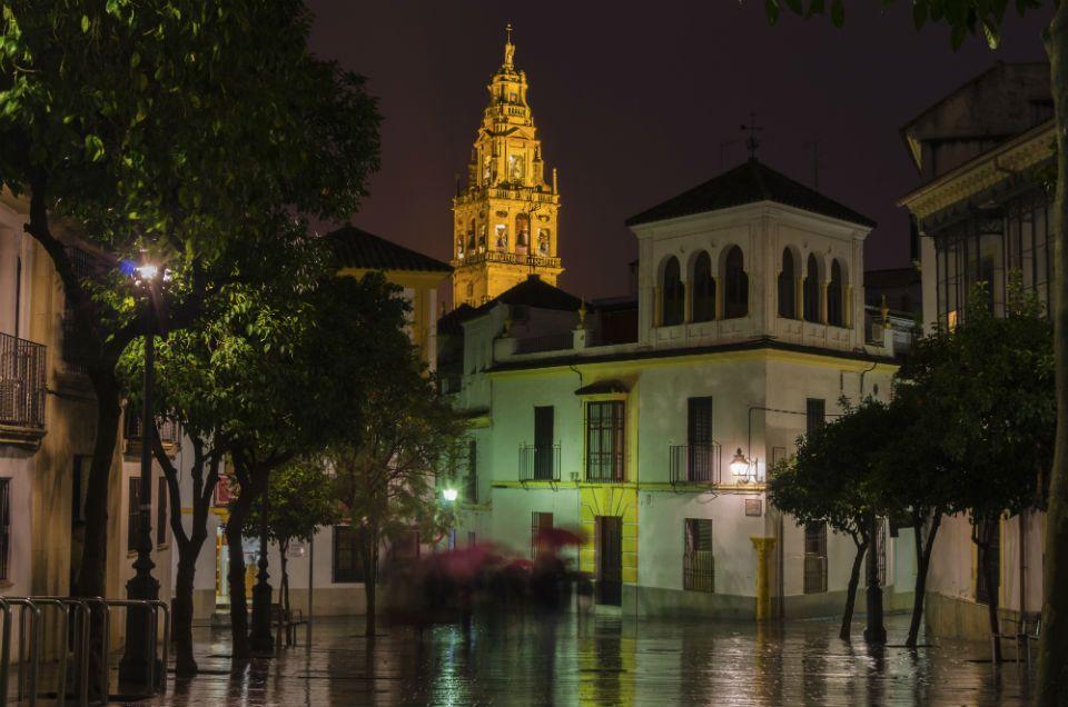 Córdoba de noche.