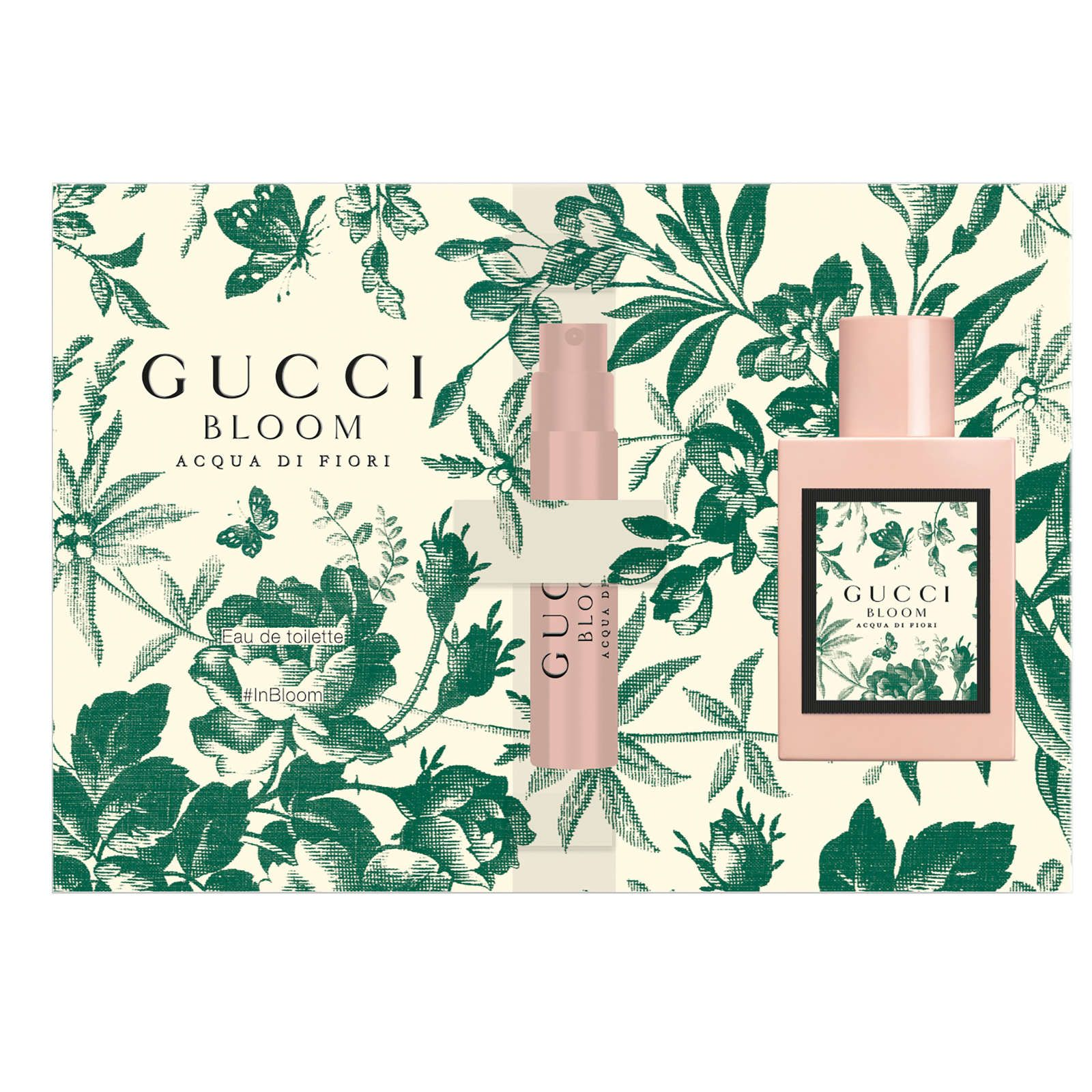 Gucci Bloom Acqua Di Fiori Sample Beauty Fragrance Samples