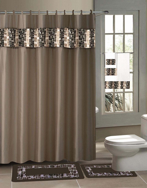 Black Gold Bathroom Accessories Bathroom Sets Fabric Shower