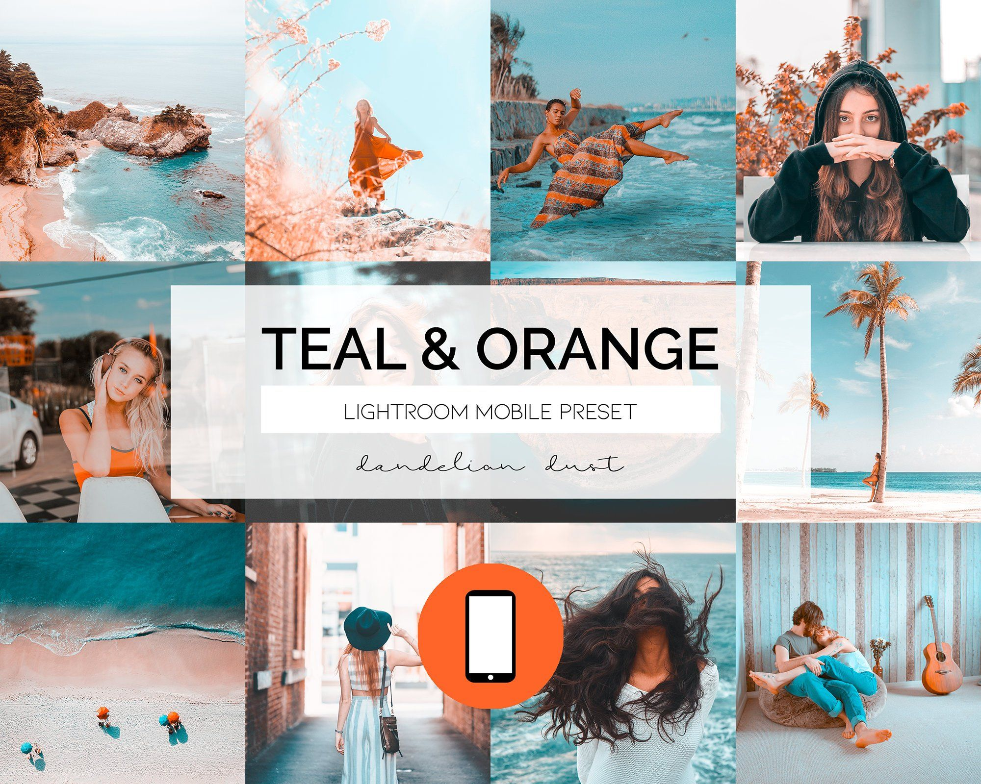 Excited To Share The Latest Addition To My Etsy Shop Lightroom Mobile Preset Teal Orange Http Instagram Themes Vsco Photography Filters Vsco Photography