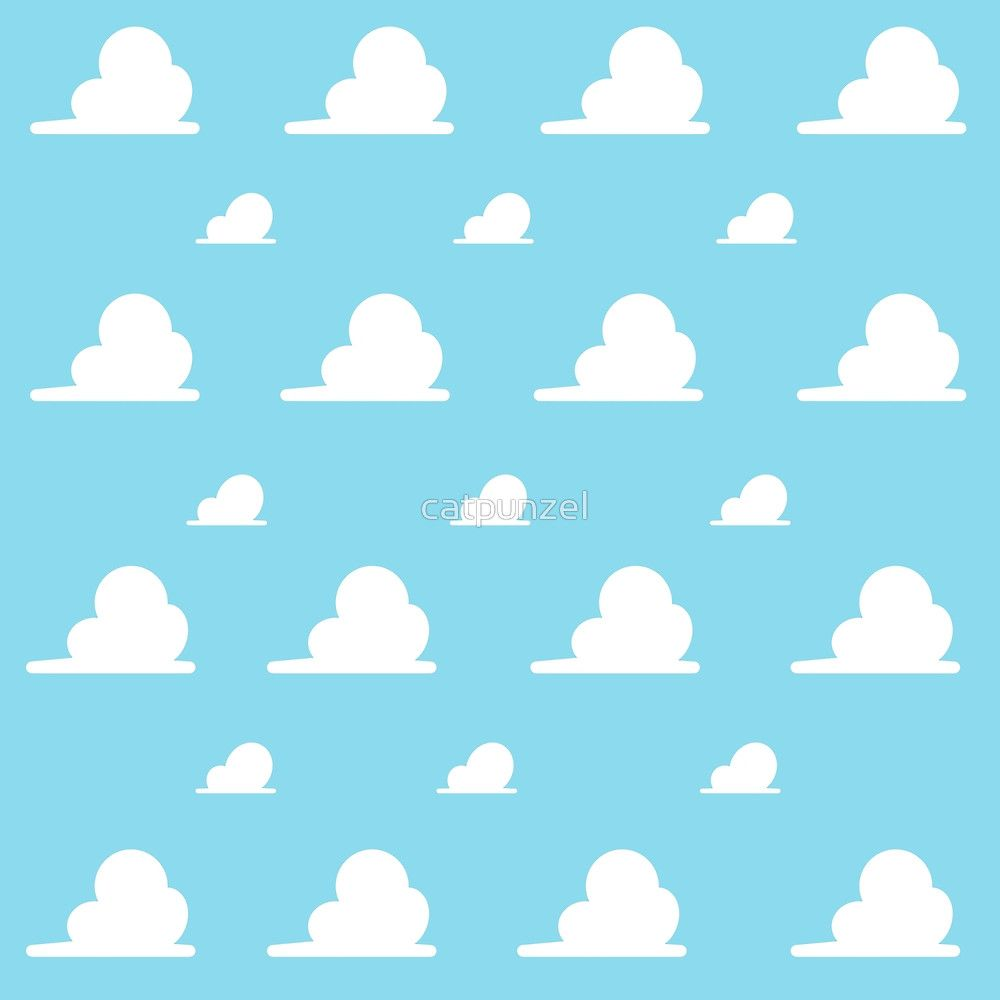 Clouds inspired by Disney Pixar Toy Story! Toy story clouds