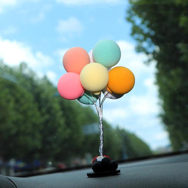 Mooie Ballon Auto Decoratie Charmant Auto Ornamenten Multicolour Mini Console Dashboard Decoratie Auto Interieur Levert Ornamenten In 2021 Ornament Ballon Decoratie