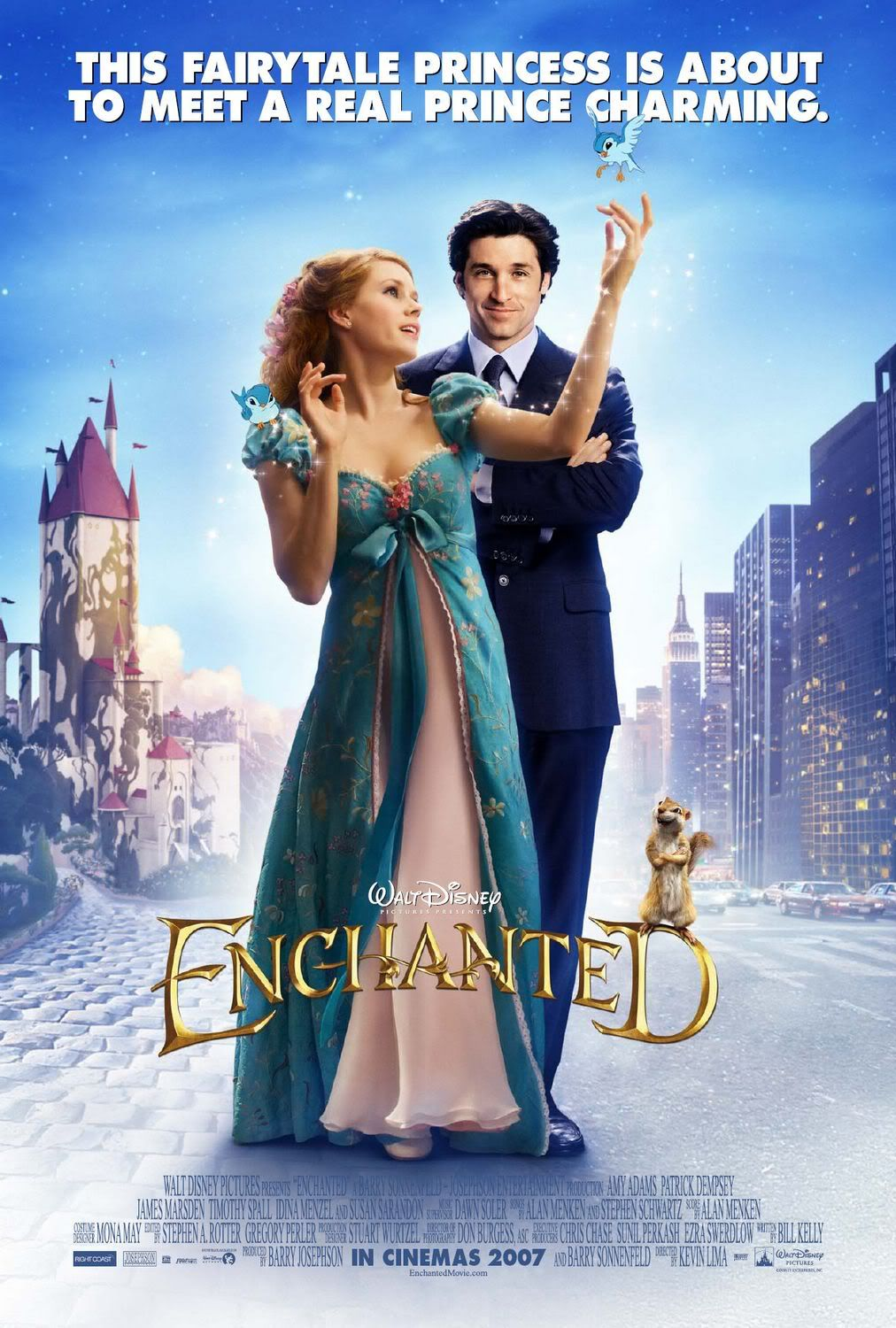 Pin By Trevor On Movies I Ve Seen Enchanted Movie Romantic