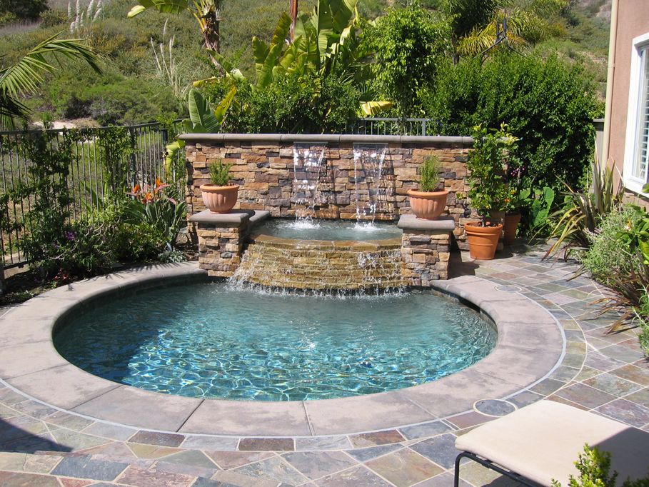 Inground Hot Tub Spas Gallery Granite Creek Pool Spa Inground Hot Tub Hot Tub Backyard Backyard Spa