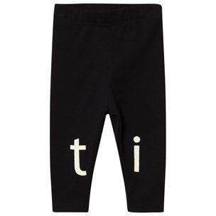 Tinycottons T-I-N-Y Logo Byxor Svart/Beige Black / Beige