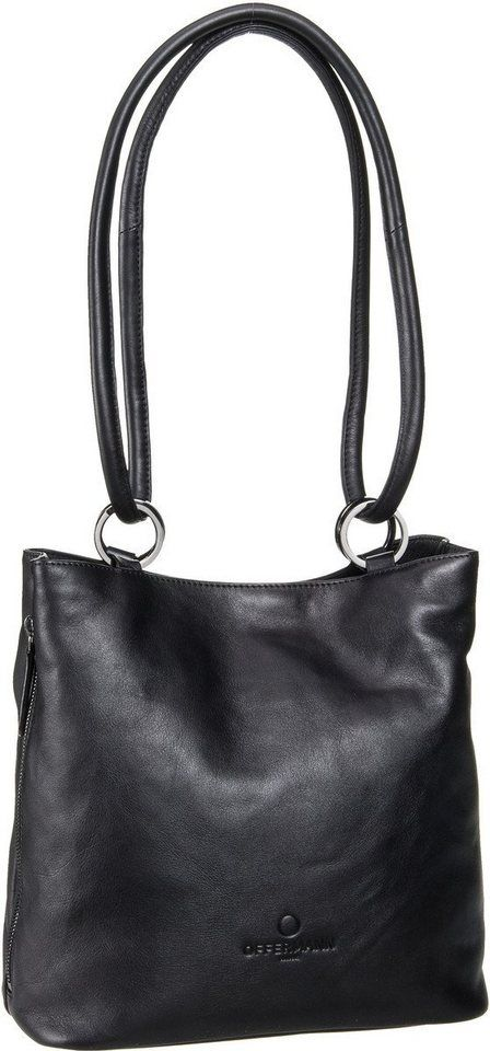 Handtasche aus Leder Bucket Bag M for Women grau Offermann iY7kPRV9v