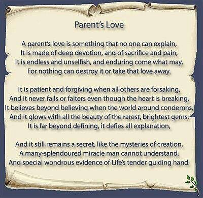 A Parent S Love Parenting Quotes Inspirational Quotes About Motherhood Parenting Quotes
