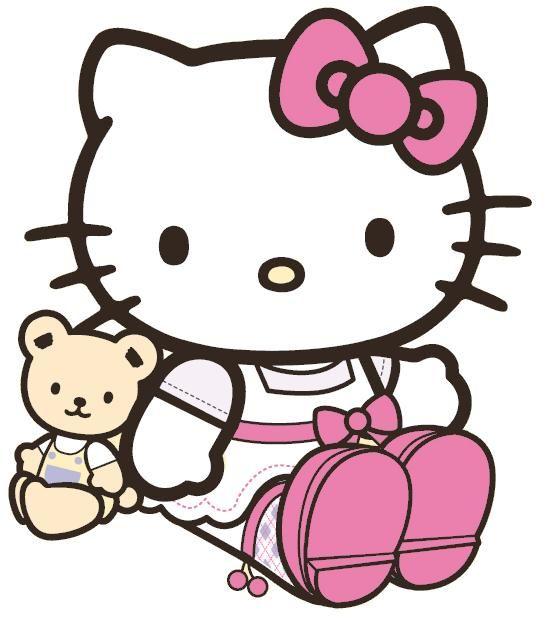 Hello Kitty And Teddy