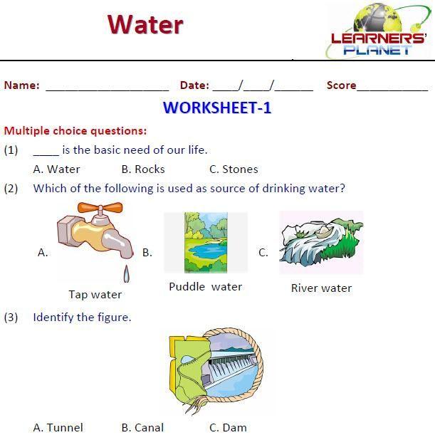 نتيجة بحث الصور عن Sources Of Water Worksheets 2nd Grade Worksheets 2nd Grade Science