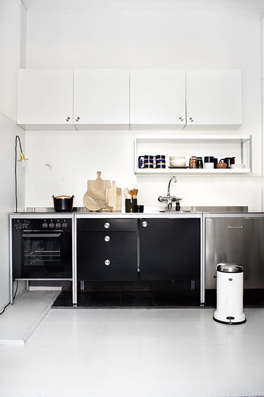 Kitchen in 3 style for Deko-magazine by Susanna Vento, photos Kristiina Kurronen