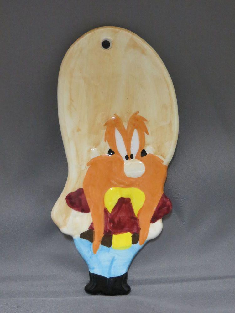 Bowls & Plates Babar Petit Jour Paris Melamine Plate 2006 Elephant Croquet Game Burnt Orange