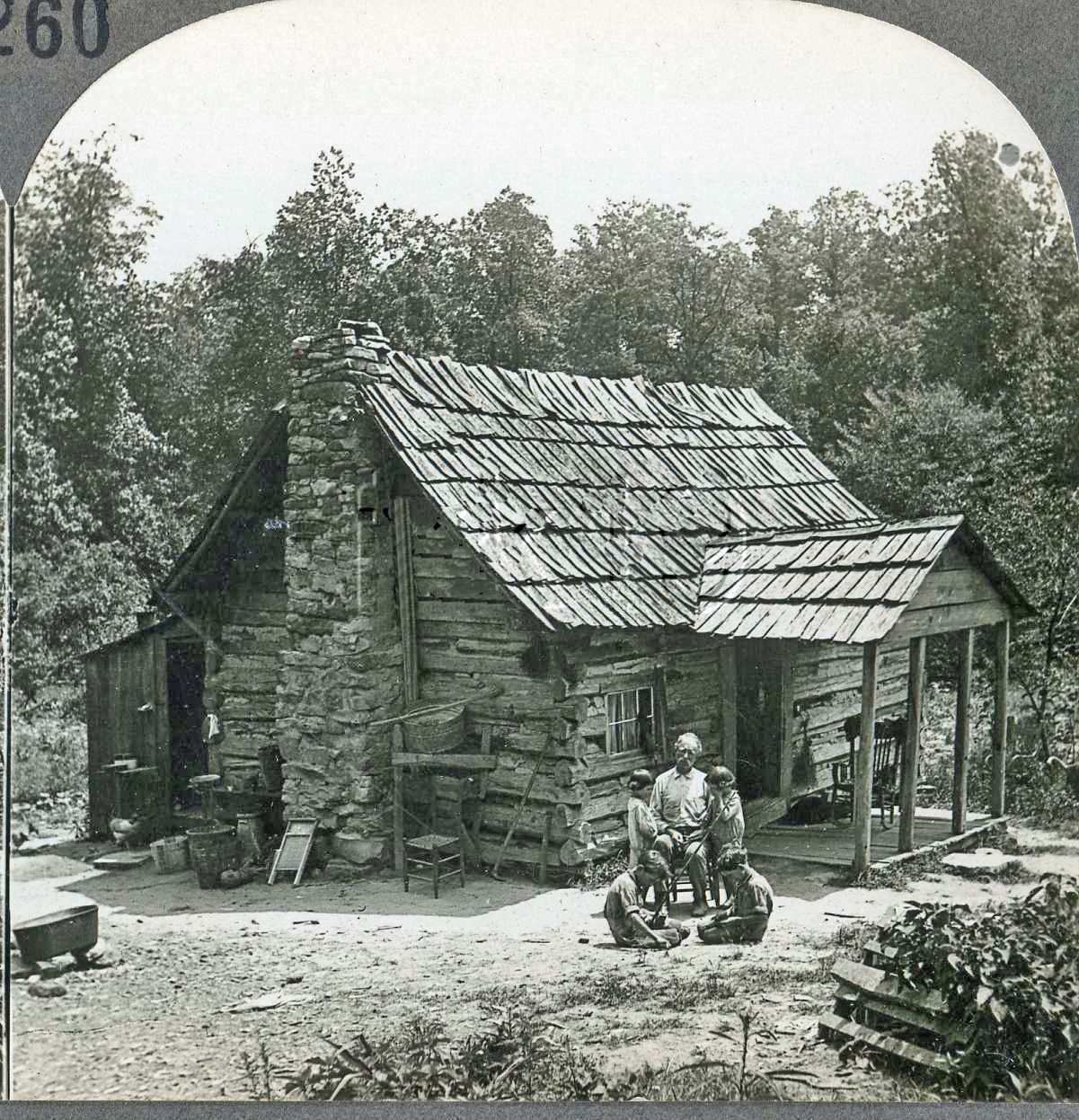 Tennessee cumberland gap mountaineers log cabin home for Appalachian mountain cabins