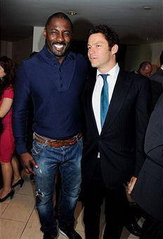 Idris Elba Dominic West From The Wire Idris Elba Dominic West Actors Actresses