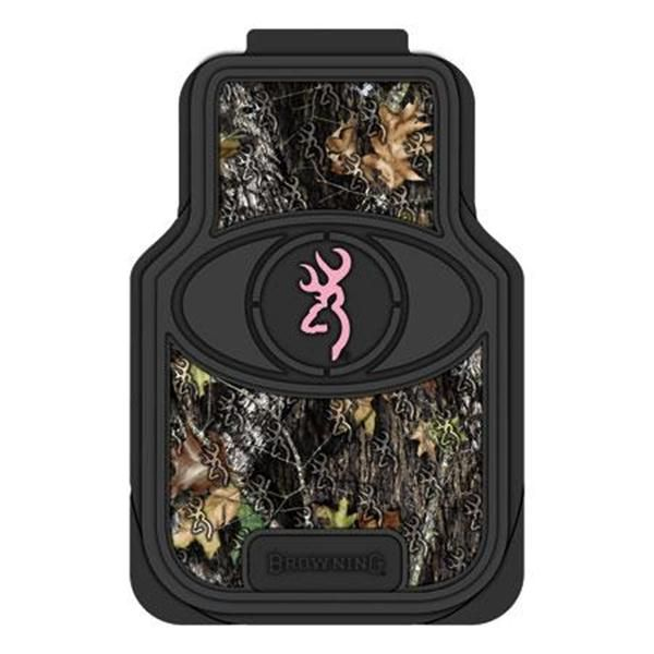 """Browning """"Pink For Her"""" Camo Car Floor Mats"""