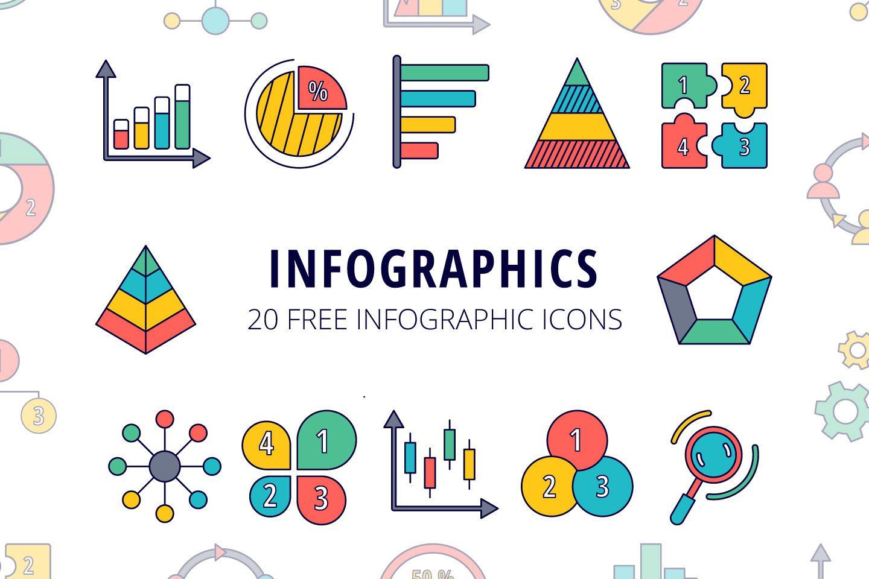 Infographics Vector Free Icon Set Free