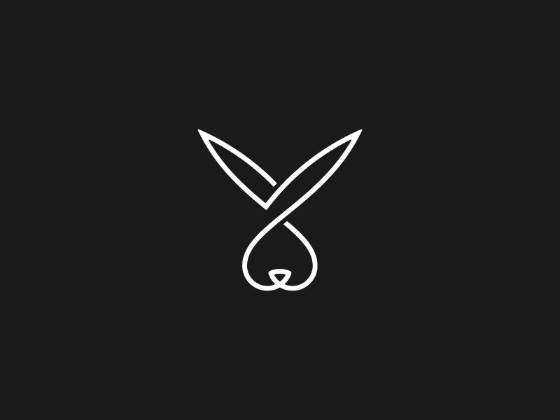 Rabbit Bunny Tattoos Logo Rabbit Bunny Art