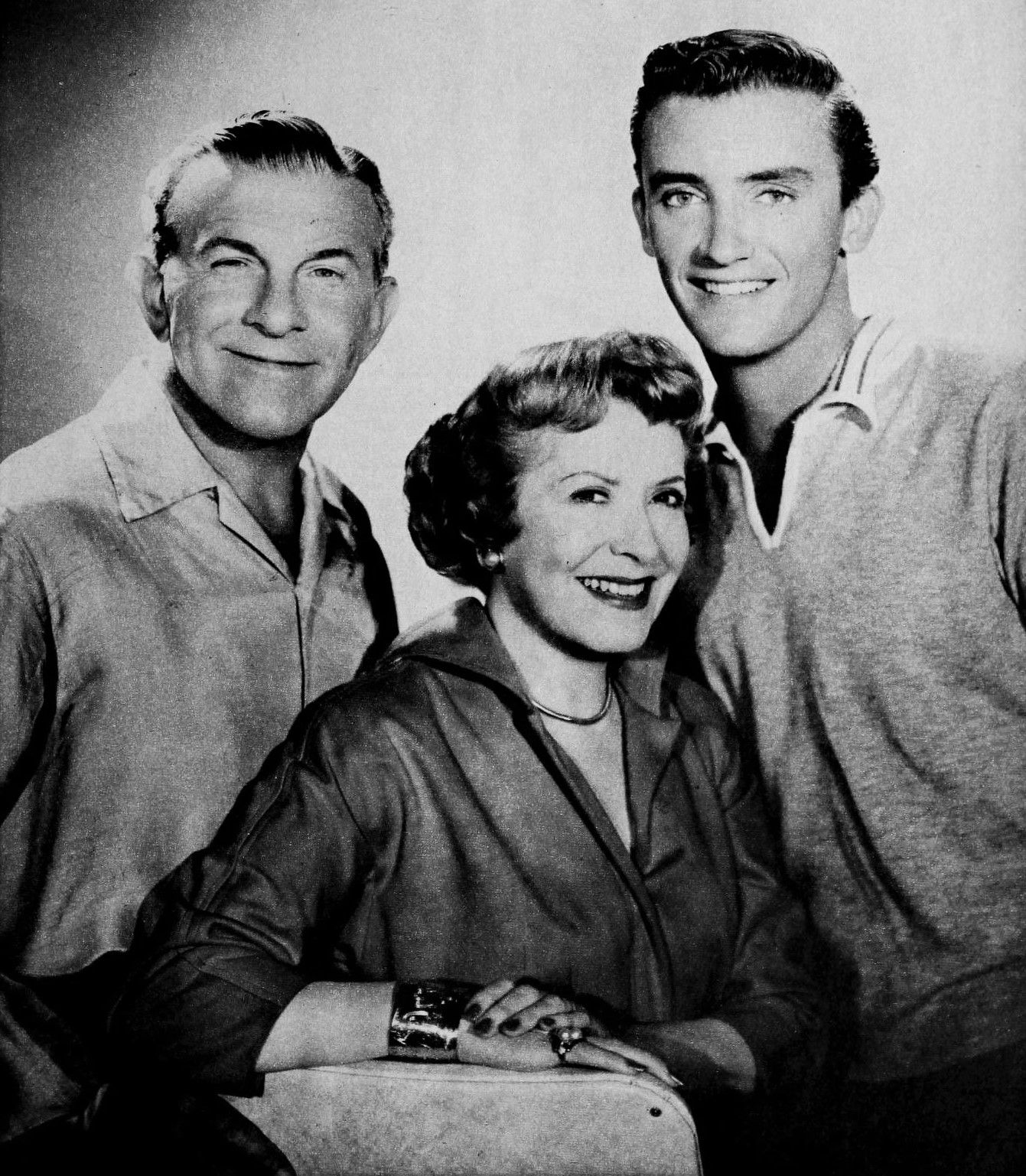 It's George & Gracie! with their wonderful & talented son, Ronnie.