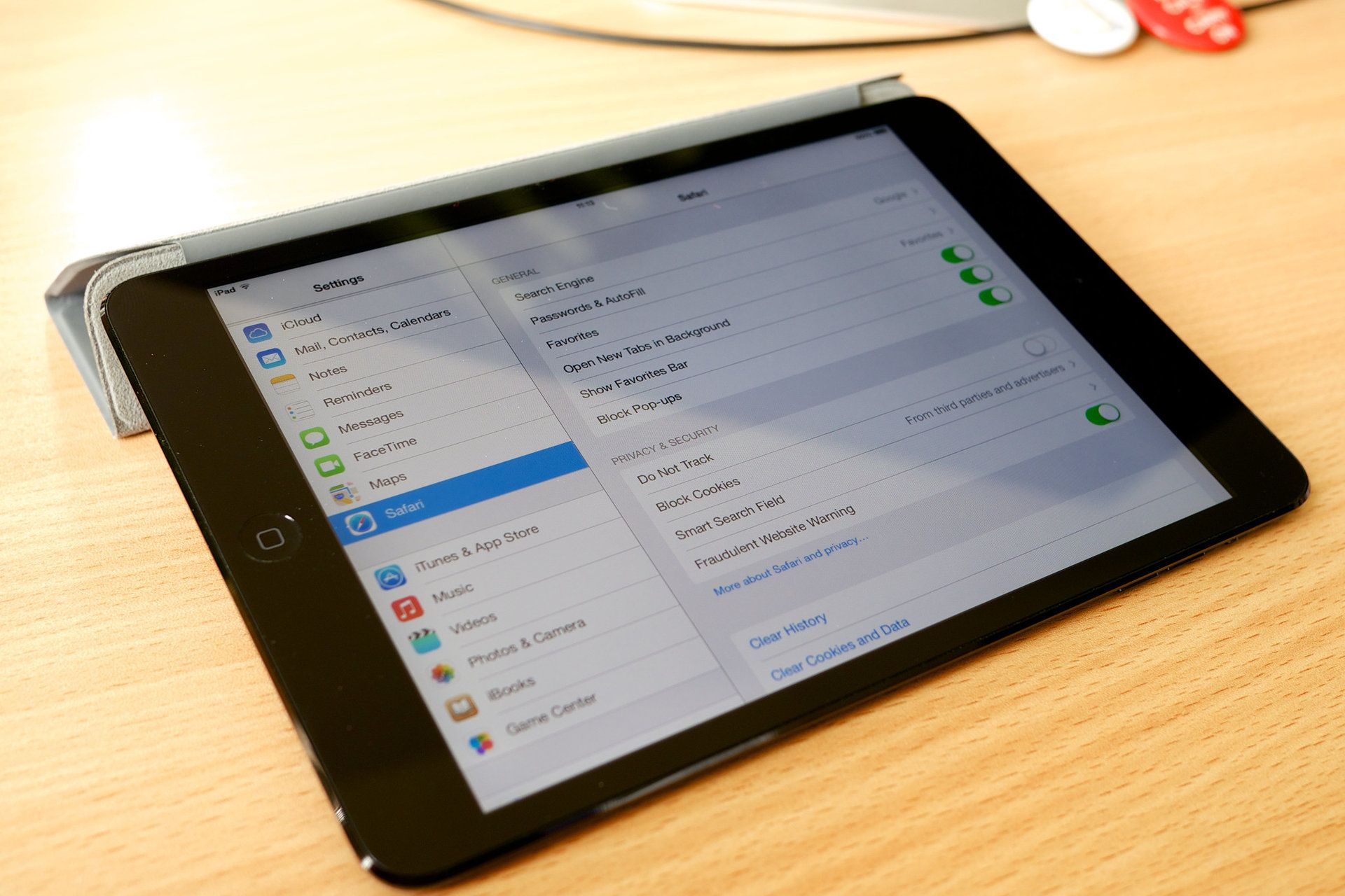 How to clear the cookies on your iPad to help it run more