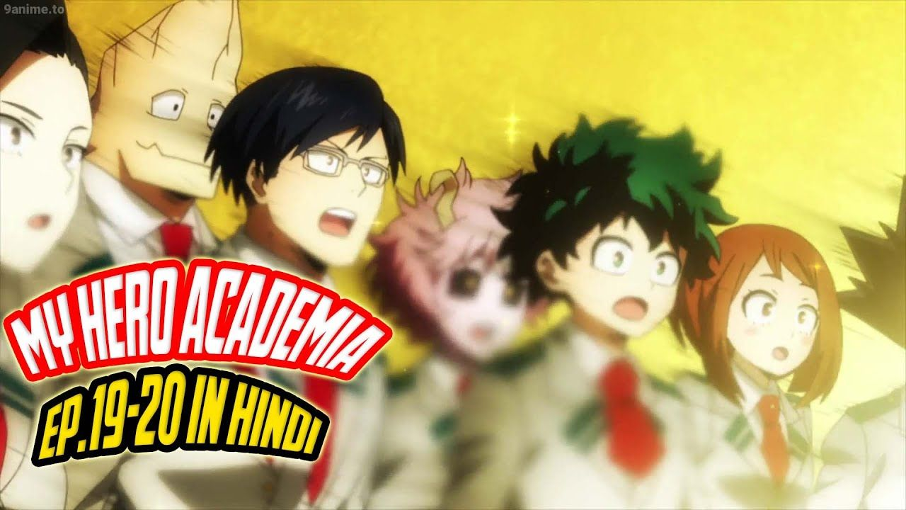 My Hero Academia Season 4 Episode 19 Review In Hindi In 2020 With