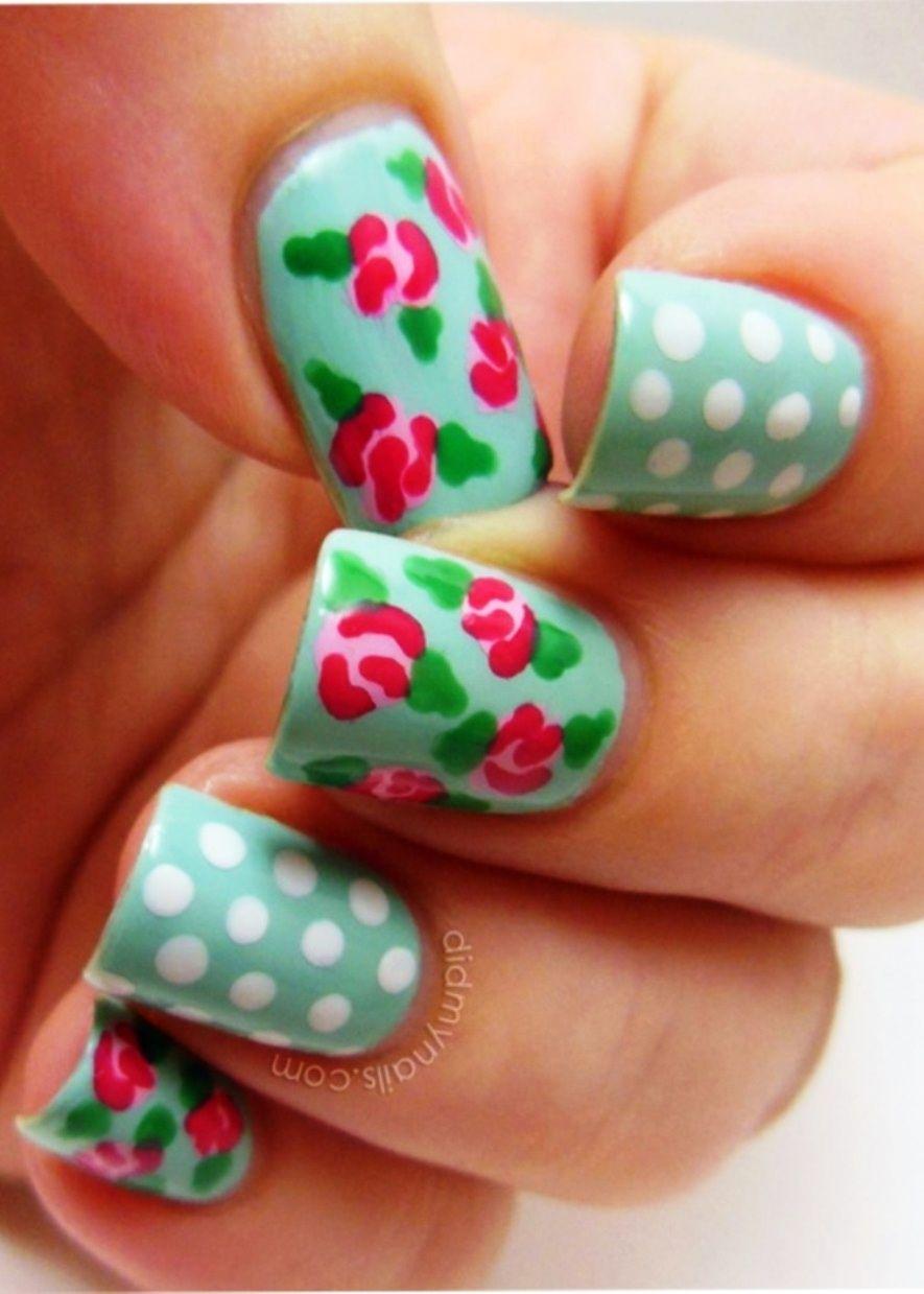 Spring Design Nails Spring Nails Pinterest Spring Nails