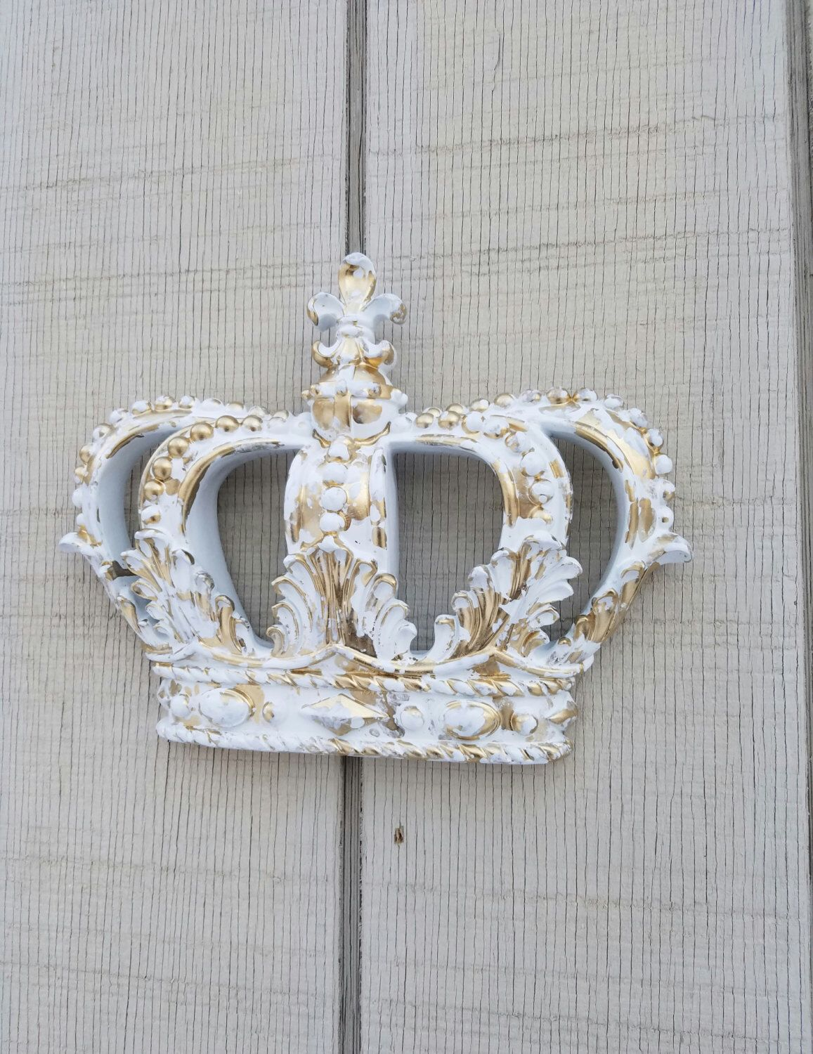 Gold Crown Wall Decor Nursery Wall Decor Crib Crown Canopy Wall Decor  Ornate Crown Gold Fleur Part 45